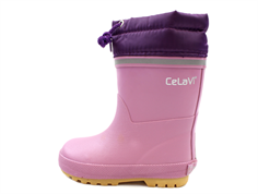 CeLaVi winter rubber boot dusky orchid