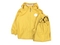Wheat rainwear Charlie pants and jacket corn yellow