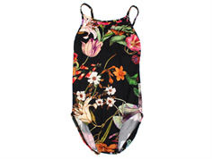 Christina Rohde swimsuit black flowers