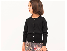 Christina Rohde cardigan black wool
