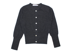 Christina Rohde cardigan charcoal wool