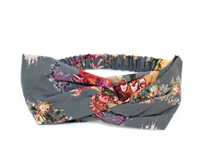 Christina Rohde hairband dark gray flower