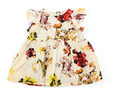 Christina Rohde dress light yellow flower