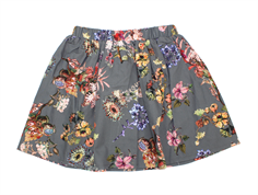 Christina Rohde skirt dark gray flower