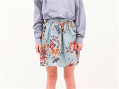 Christina Rohde skirt light blue flower