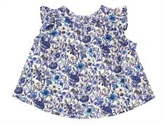 Christina Rohde top blue floral print