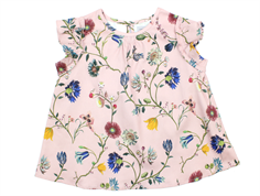 Christina Rohde top/dress voile rose flower