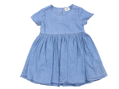 Mads Nørgaard dress Daisy denim light blue