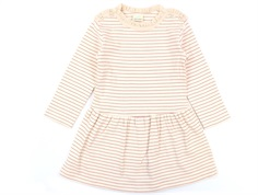 En Fant dress pink champagne stripes