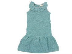 En Fant dress knitted blue surf