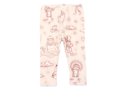 En Fant leggings rosewater with animal print