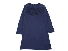 En Fant dress navy wool/acrylic