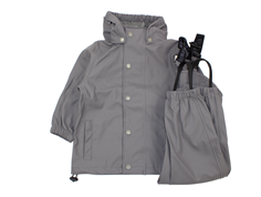 En Fant rainwear pants and jacket pewter