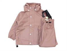 En Fant rainwear pants and jacket burlwood
