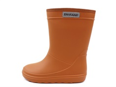 En Fant rubber boot leather brown