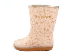 En Fant rubber boot snow white flower