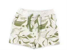 En Fant shorts gray melange/sage beetles
