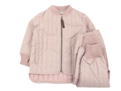 En Fant thermal jacket and pants adobe rose