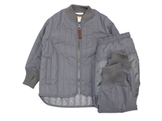 En Fant thermal jacket and pants pewter
