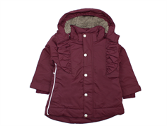 En Fant winter jacket forrest fig