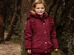 En Fant winter jacket cordovan