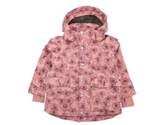 En Fant winter jacket old rose flower
