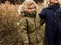 En Fant winter jacket martini olive