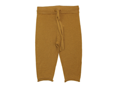 FUB knit pants sienna wool