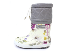 Aigle Giboulee wildflower winter rubber boot