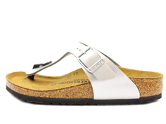 Birkenstock Gizeh sandal with silver buckle (30-34)