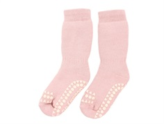 GoBabyGo socks dusty rose