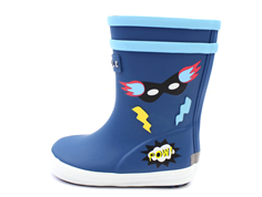 Aigle Baby Flac rubber boot superheroes