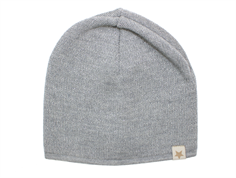 Huttelihut beanie light grey silver