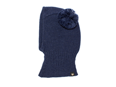 Huttelihut balaclava navy with two tassels