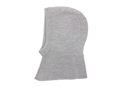 FUB balaclava light gray wool