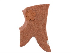 Huttelihut balaclava rosewood with flower