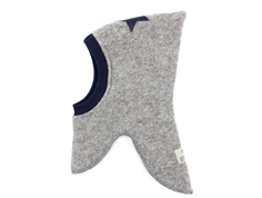Huttelihut balaclava light gray/navy star