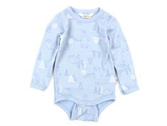 Joha body blue happy bear wool