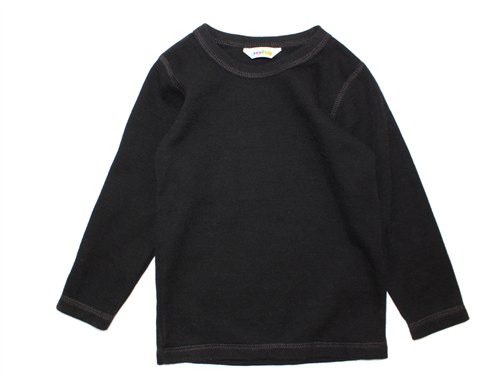 Joha blouse black wool/cotton