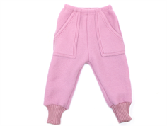 Joha pants baggy old rose wool