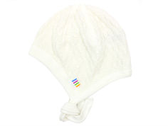 Joha hat for babies off-white cotton