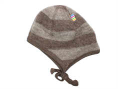 Joha cap for babies stripe wool