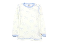 Joha blouse elephant blue wool
