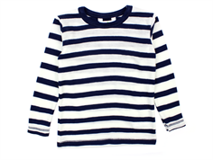 Joha blouse stripes marine wool