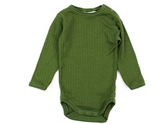 Joha body bottle green wool