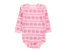 Joha body rose snowflake wool