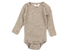 Joha body beige melange wool/silk
