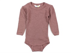 Joha body old rose wool/silk