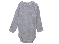 Joha body light gray melange wool