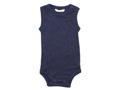 Joha body navy wool/silk